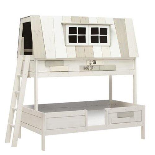 LIFETIME Bunk Bed Hangout 140 x 200 cm whitewash