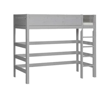 LIFETIME Loft bed straight ladder greywash