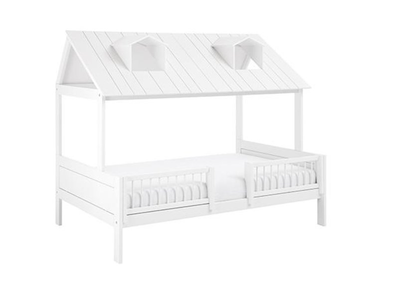 LIFETIME Beachhouse Bed 120 x 200 cm in white