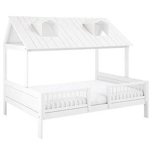 LIFETIME Beachhouse Bett 140 x 200 cm weiß