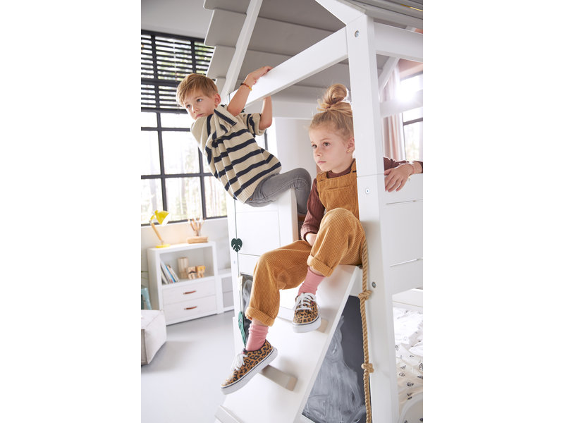 LIFETIME Play Tower Bed white