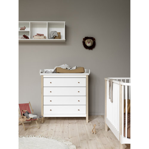 Oliver Furniture Wood dresser, white-oak