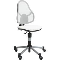 Deluxe children office chair white