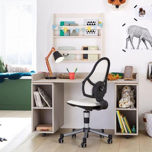 LIFETIME Deluxe children office chair in white