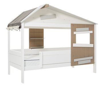 """LIFETIME Base cottage bed """"The Hideout"""" white"""