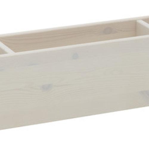 LIFETIME Etagenbett mit Treppe in whitewash