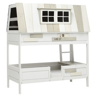 Adventure bed Hangout white