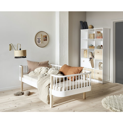 Oliver Furniture Day Bed Wood Original, white-oak