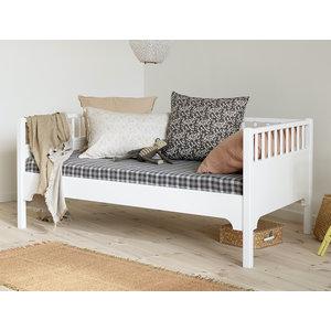 Oliver Furniture Classic Junior Bettsofa weiß 90 x160  cm
