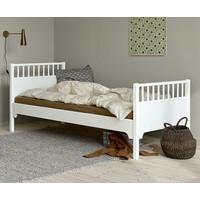 Classic bed  90 x 200 cm, white