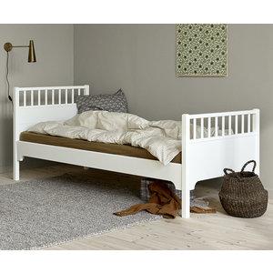Oliver Furniture Classic Einzelbett 90 x 200 cm, weiß