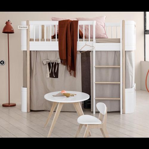 Oliver Furniture Wood Vorhang Set Leinen Natur - Copy