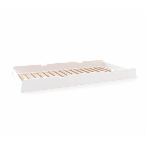 Oeuf Einzelbett River weiß-Birke - Copy