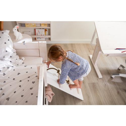 LIFETIME Cabin Bed Climb & Slide whitewash