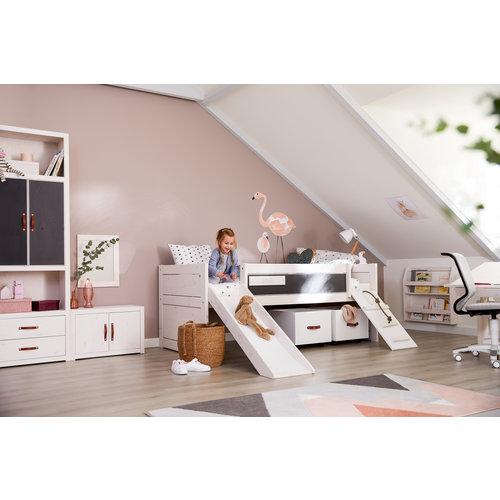 LIFETIME Cabin Bed Climb & Slide white