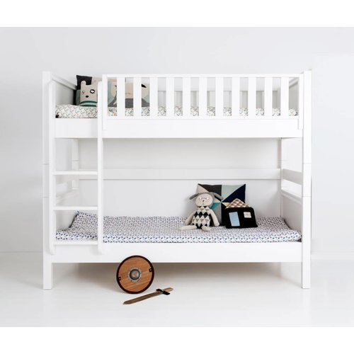 Sanders Fanny bunk bed 90/120 x 200 cm with large underbed