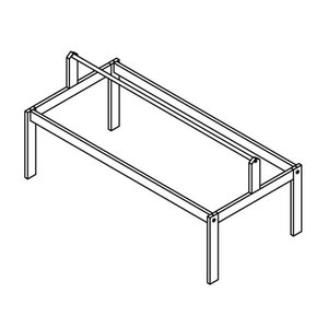 LIFETIME Frame for fabric roof