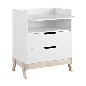 LIFETIME Changing cabinet with 2 drawers