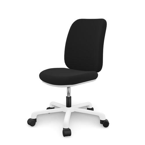 LIFETIME Office Chair Comfort Black / White
