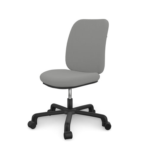 LIFETIME Office Chair Comfort Light Grey / Black
