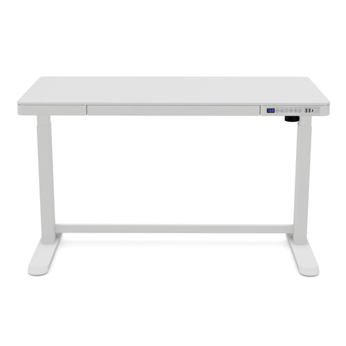 LIFETIME Electrically adjustable desk - with USB connection