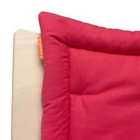 Sitzkissen für den Leander Hochstuhl, Raspberry rot