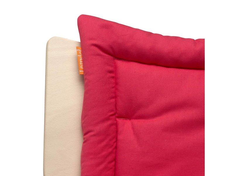Leander Sitzkissen für den Leander Hochstuhl, Raspberry rot