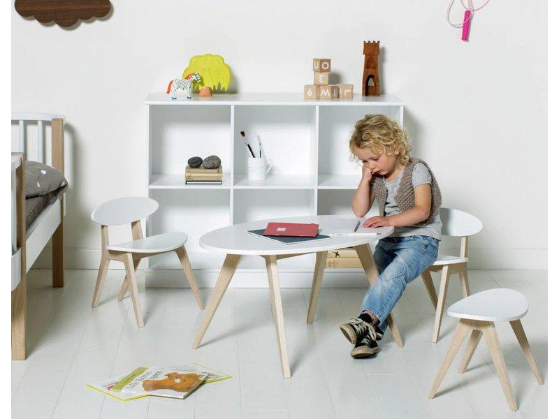 Oliver Furniture Wood PingPong Hocker