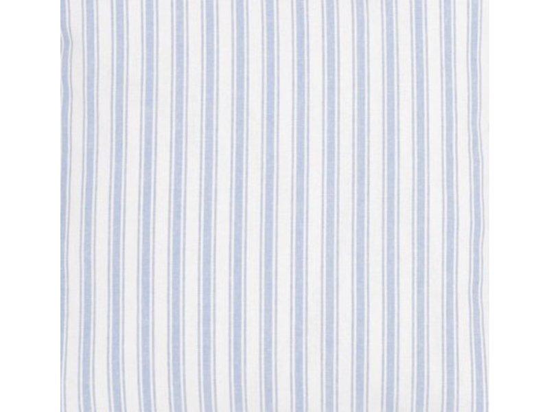 Oliver Furniture Dekostoff Blau-weiße Streifen