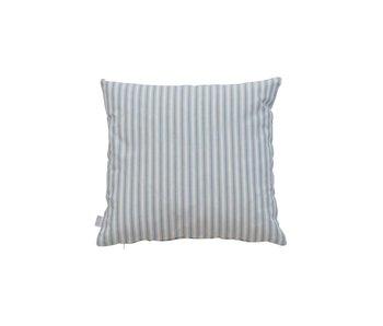 Oliver Furniture Kissen 40 x 40 blaue Streifen