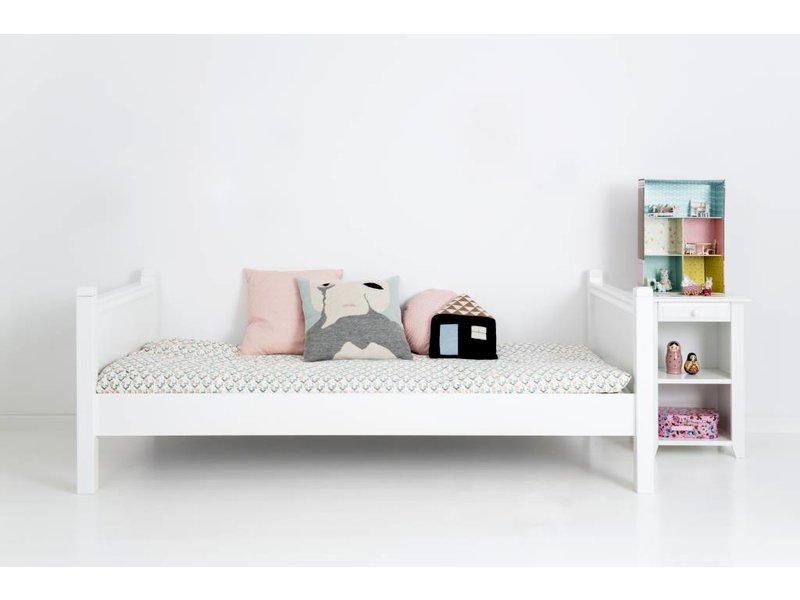 Sanders Fanny Einzelbett 90 x 200 cm weiß