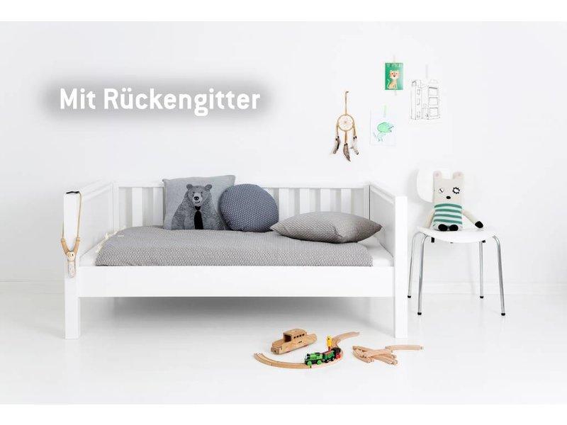 Sanders Fanny Himmelbett Junior weiß 90 x 160 cm
