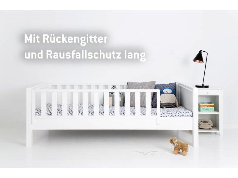Sanders Fanny Himmelbett 90 x 200 cm weiß