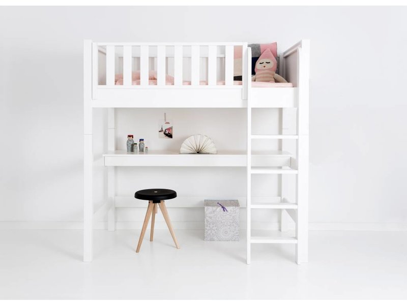 Sanders Fanny Mittelhohes Bett Junior 90 x 160 cm weiß