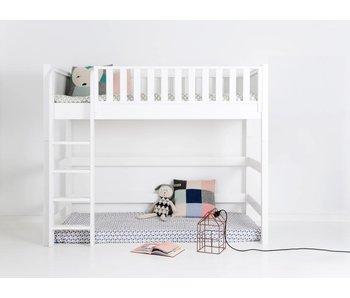 Sanders Fanny Mittelhohes Bett 90 x 200 cm weiß