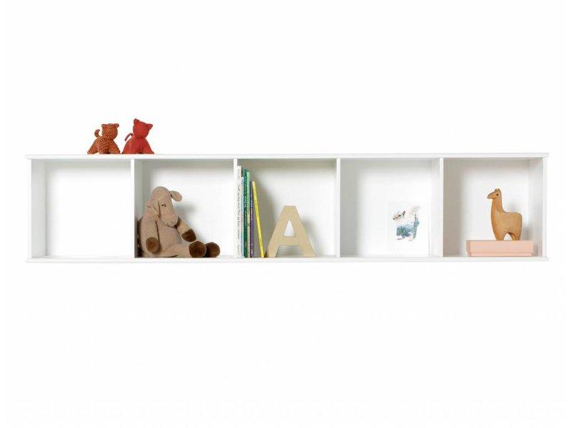 Oliver Furniture Wood Wand-Regal 5x1