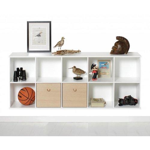 Oliver Furniture Wood Wand-Regal 5x2