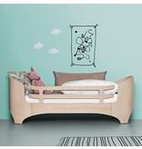 Leander Reling für das Juniorbett von Leander in white wash