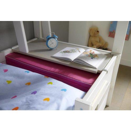 LIFETIME folding mattress anthracite 150 x 90 cm
