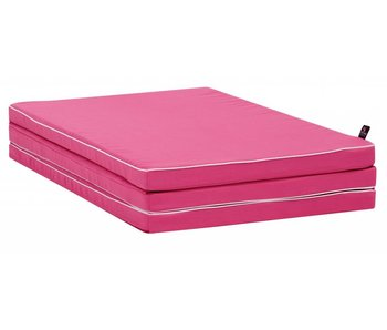LIFETIME folding mattress pink
