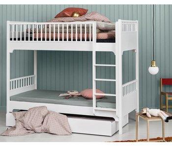 Oliver Furniture Etagenbett 90 x 200 cm, weiß