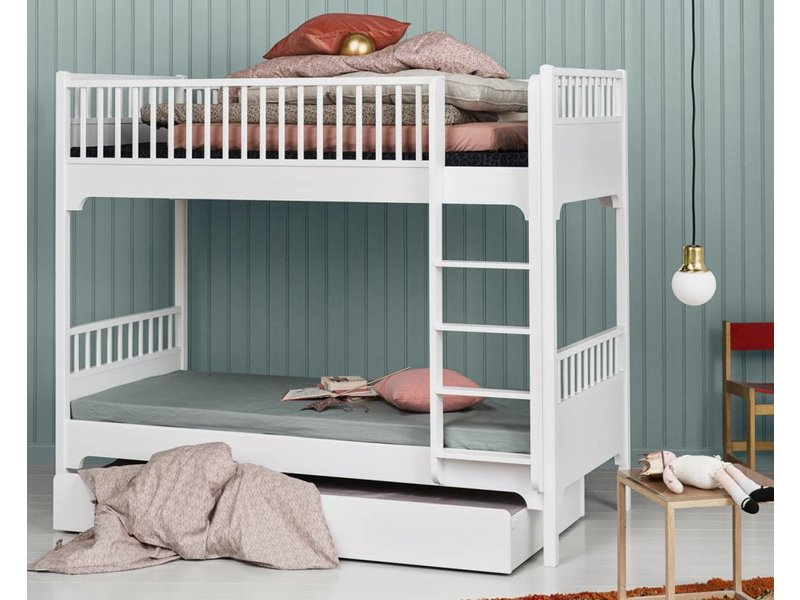 Etagenbett Weiß : Etagenbett stockbett frederik inkl bettkasten buche massiv