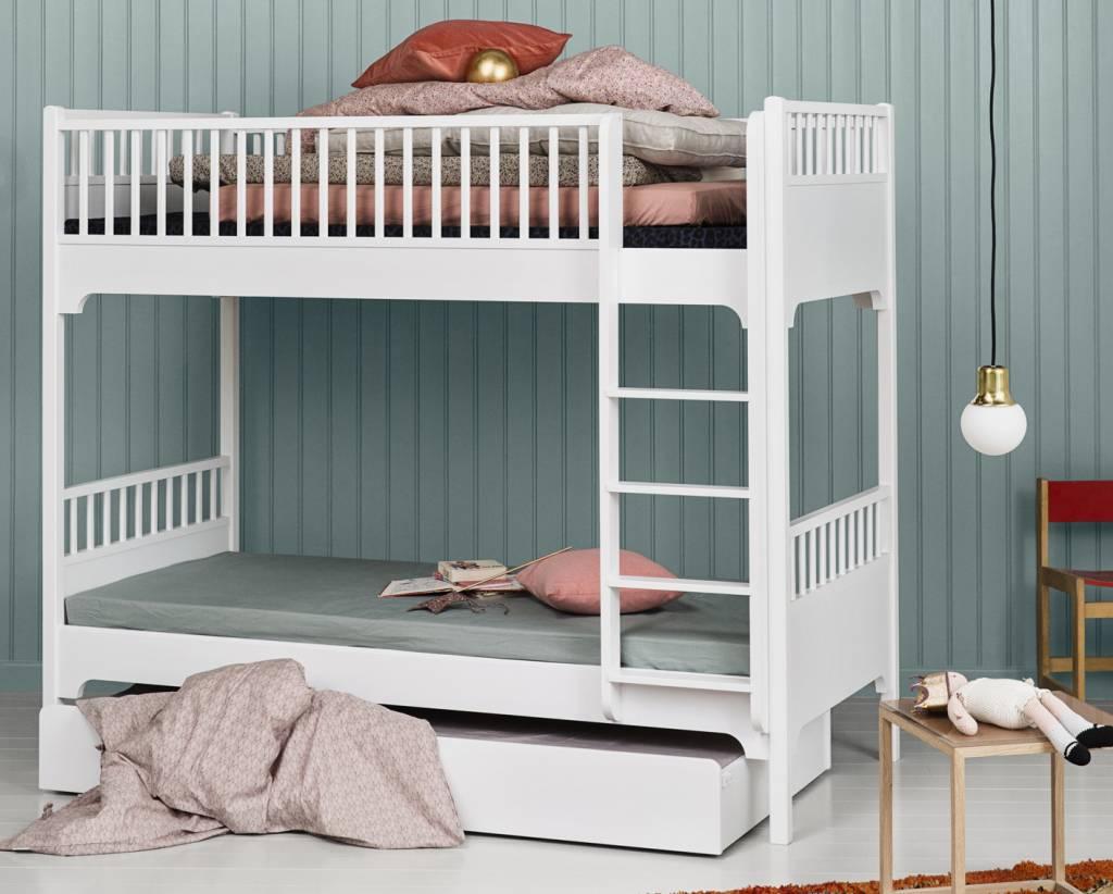 Etagenbett Oliver : Oliver furniture etagenbett gerade leiter weiss www.romy