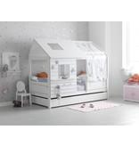 LIFETIME Großer Bettkasten für das Basisbett in weiß