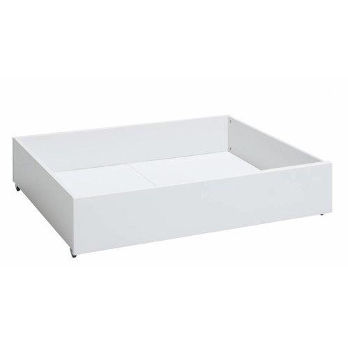 LIFETIME Bettkasten klein für das Basisbett in Whitewash