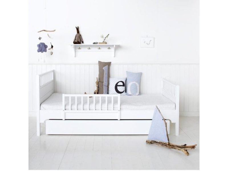Oliver Furniture Einzelbett 90 x 200 cm, weiß