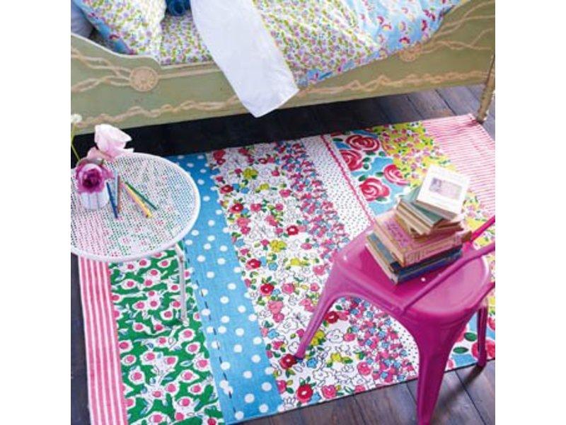 Designers Guild Teppich Daisy Stripe Peony