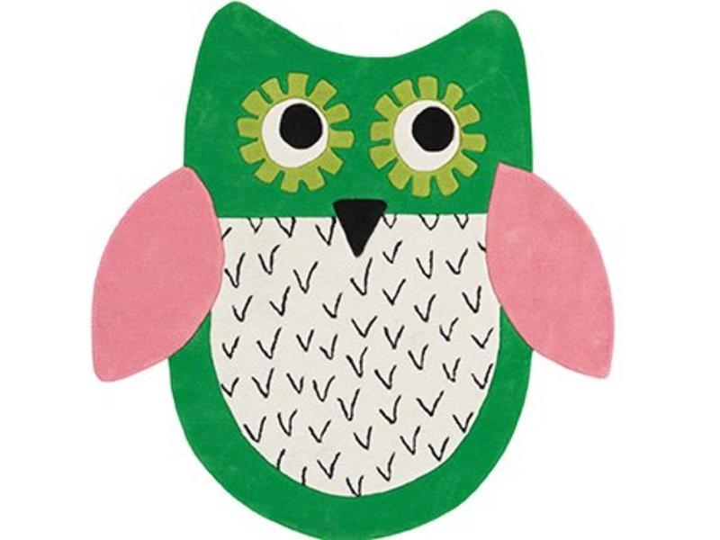 Designers Guild Teppich Eule - Little Owl Emerald