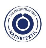 cotonea Satin- Kinderbettwäsche Vichy hellblau 100x135