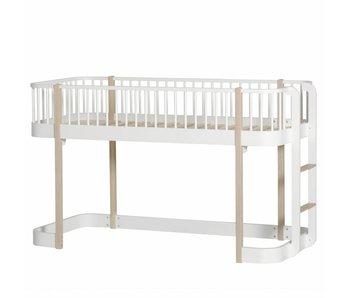 Oliver Furniture Halbhohes Hochbett Wood Eiche